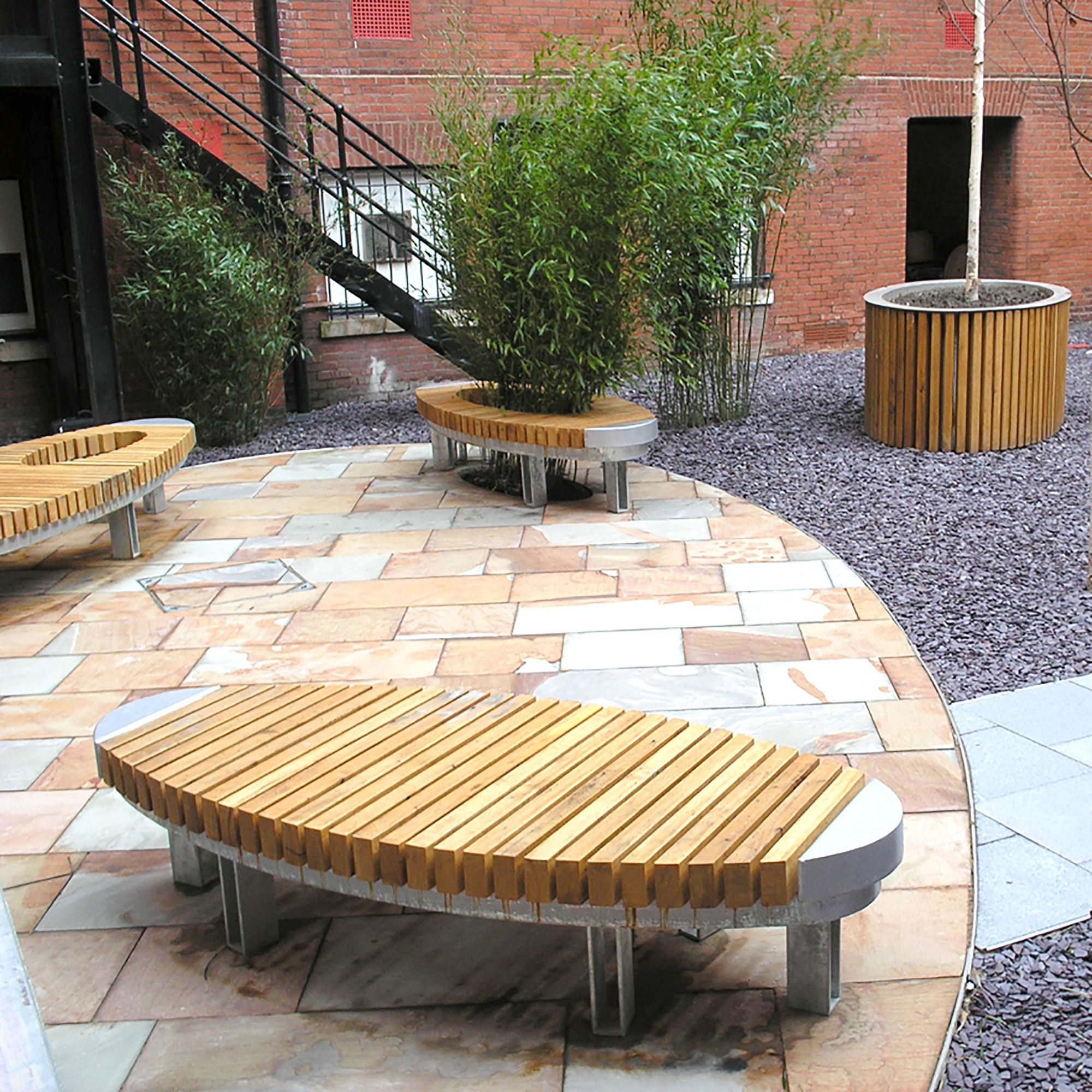 Lime Grove Bench Woodscape Urban furniture, Bench
