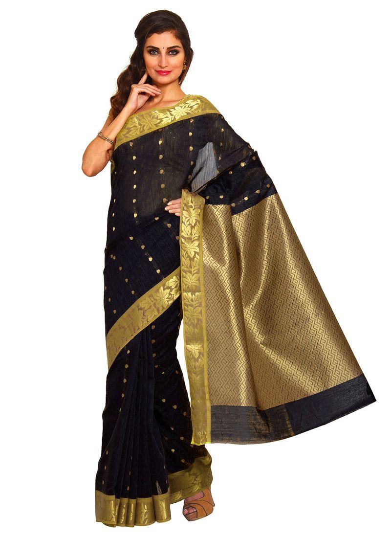 Engagement pattu saree images black poly silk saree  indian clothes i like  pinterest  saree