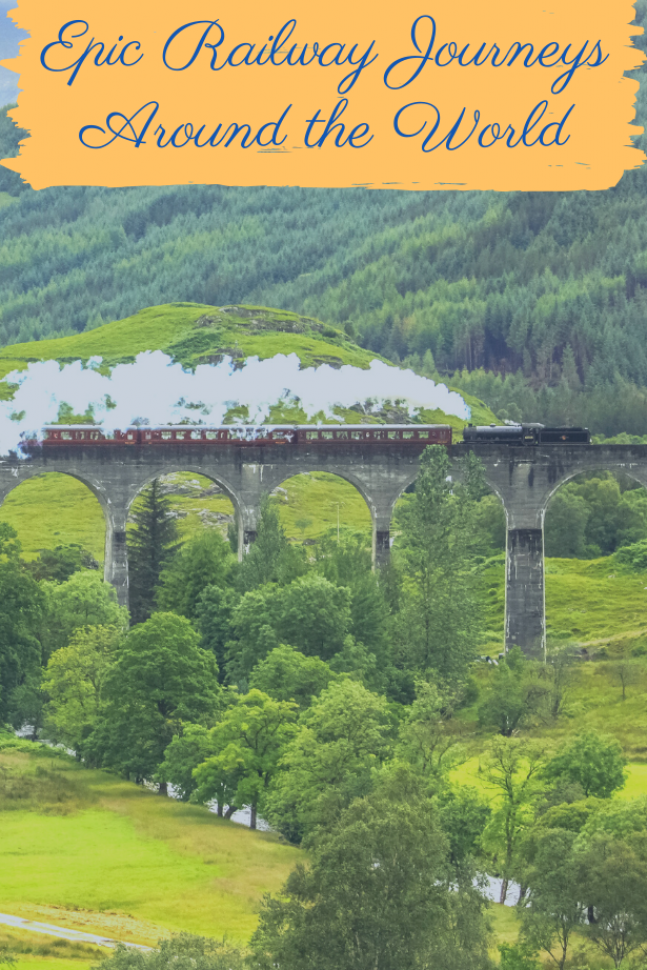 Whether chasing the romance of steam locomotion or looking to experience some of the world   s magical scenery from the comfort of a carriage winding its way through far-flung countryside  here are 6 epic railway journeys found across the world   #TravelBlog #Railways #Journeys #TravelDestinations #Inspiration #Scotland #India #Switzerland #Norway #Peru #USA
