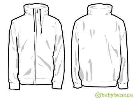 Download Deviantart More Like Clothing Template 1 By Hospes Clothing Templates Jackets Shirt Template