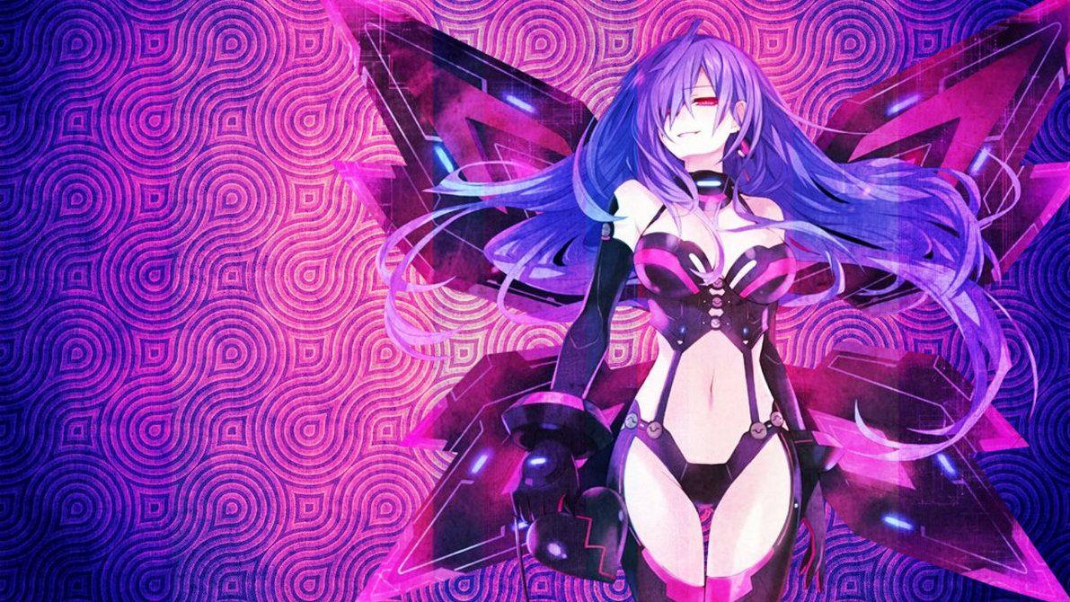 Hyperdimension Neptunia Iris Heart Wallpaper By Jessymoonn On DeviantArt