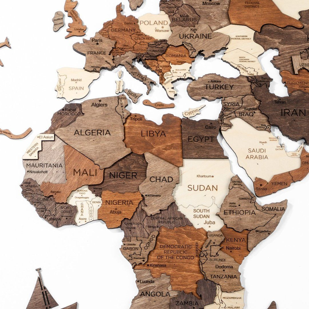 Free International Shipping 100 Delivery Guarantee We Make A Full Refund In Case Of Force Majeurethe Wood In 2020 Wood World Map World Map Wall Art World Map Wall