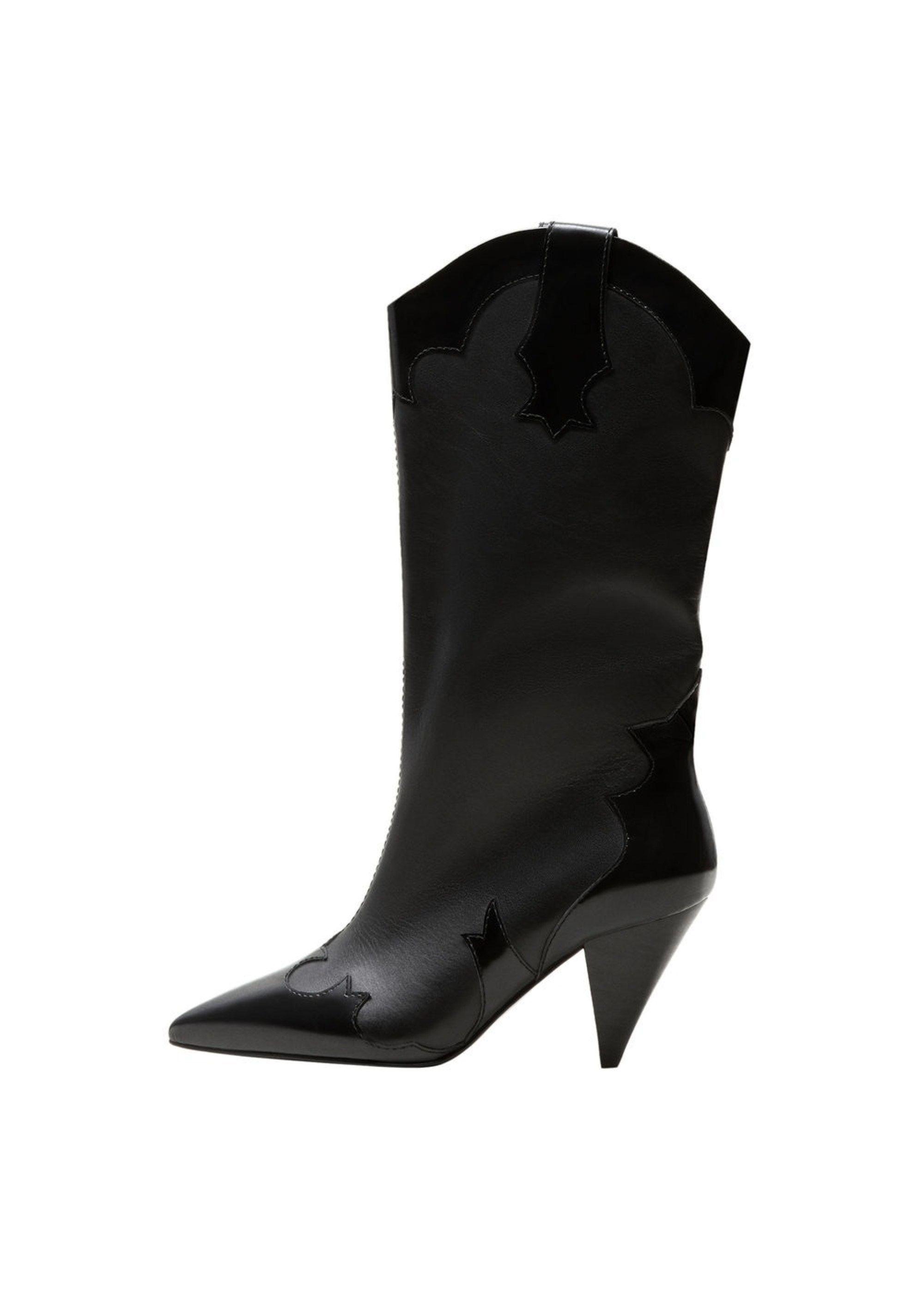 5d115c473c71da Damen MANGO Stiefel Mexico schwarz