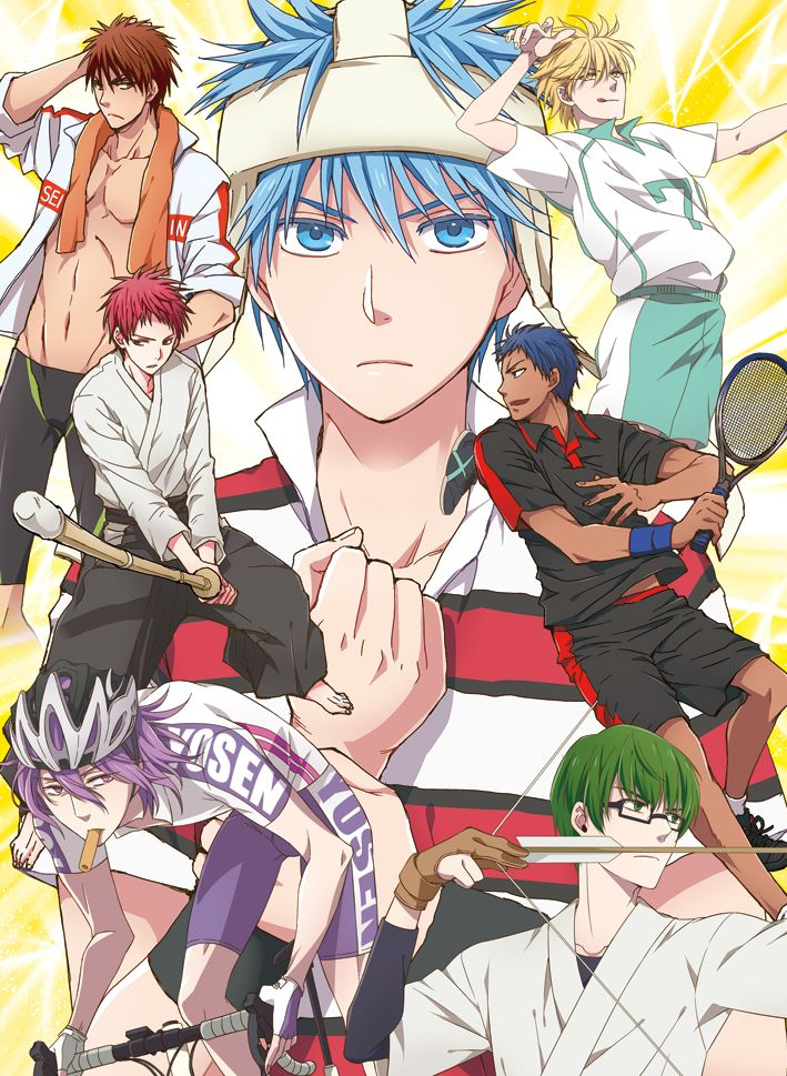 Generation of miracles in other sports anime?? Kurobasu