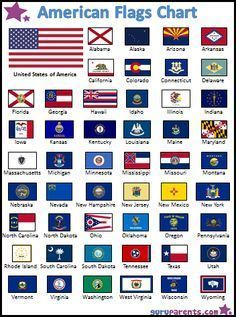Playful image with regard to printable state flags