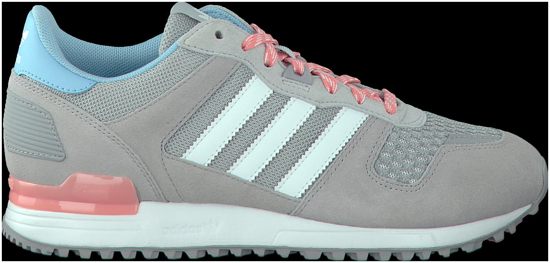 adidas zx 700 dames grijs roze
