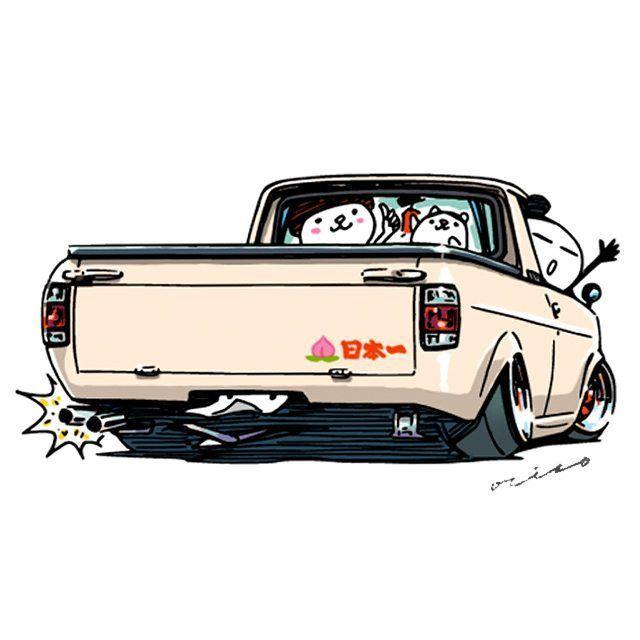 73dbc45766 Civic Car, Car Animation, Jdm Stickers, Car Vector, Truck Art, Car