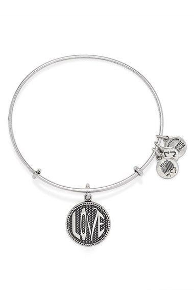 b2b5dce833cc5 Alex and Ani 'Open Love' Expandable Wire Bangle available at ...