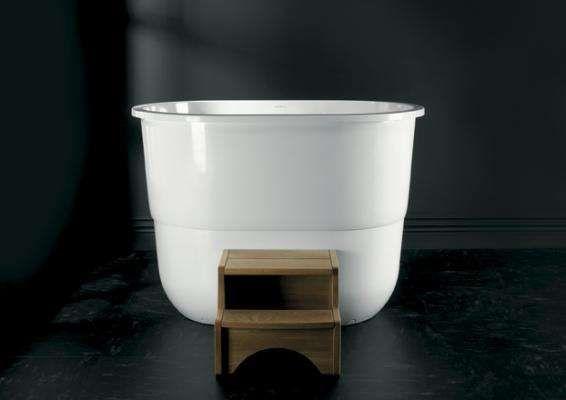 Vasca Da Bagno Stile Giapponese : Vasca da bagno sorrento di victoria albert stile giapponese