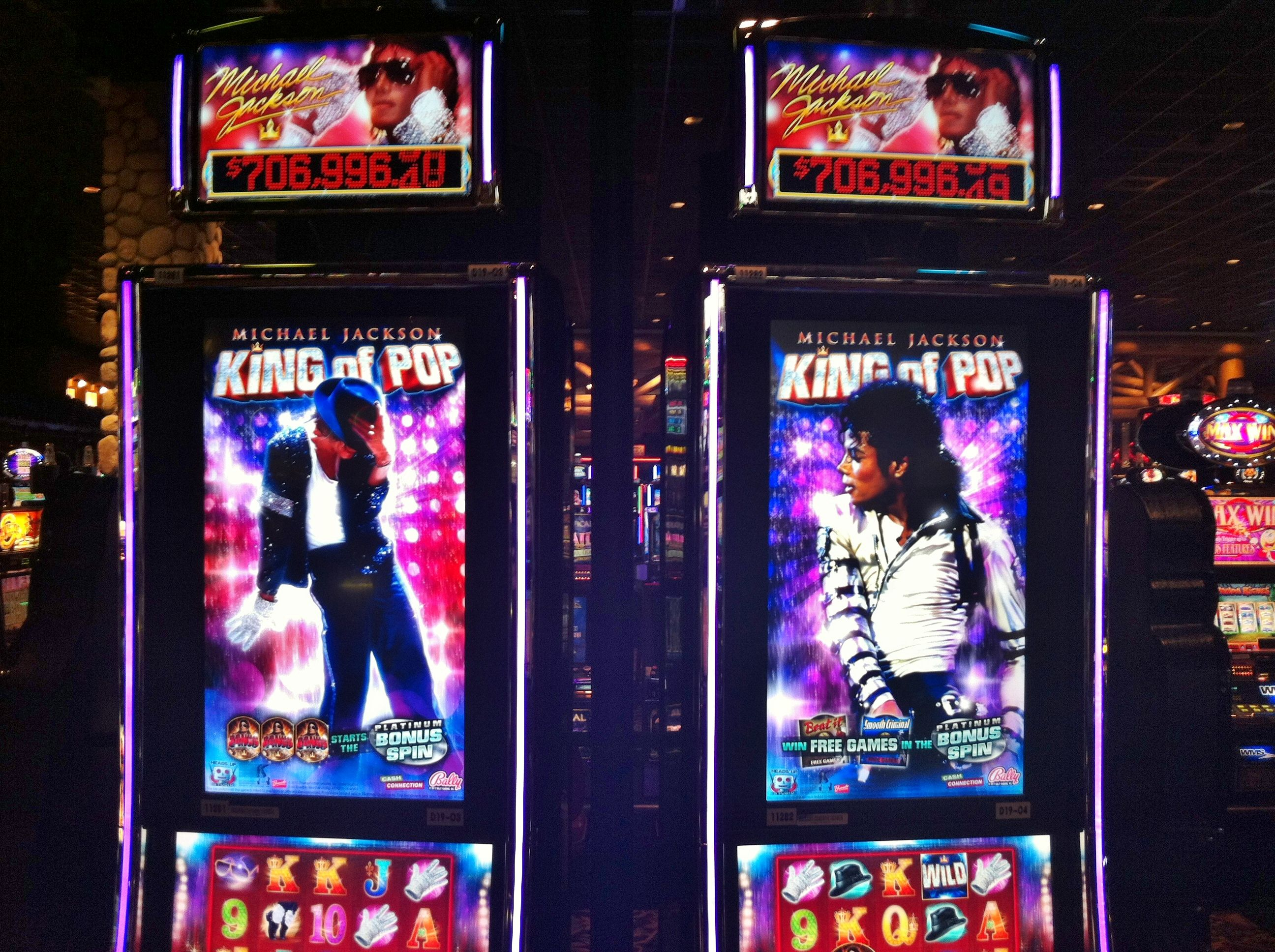 Michael Jackson Legend Slot Machine