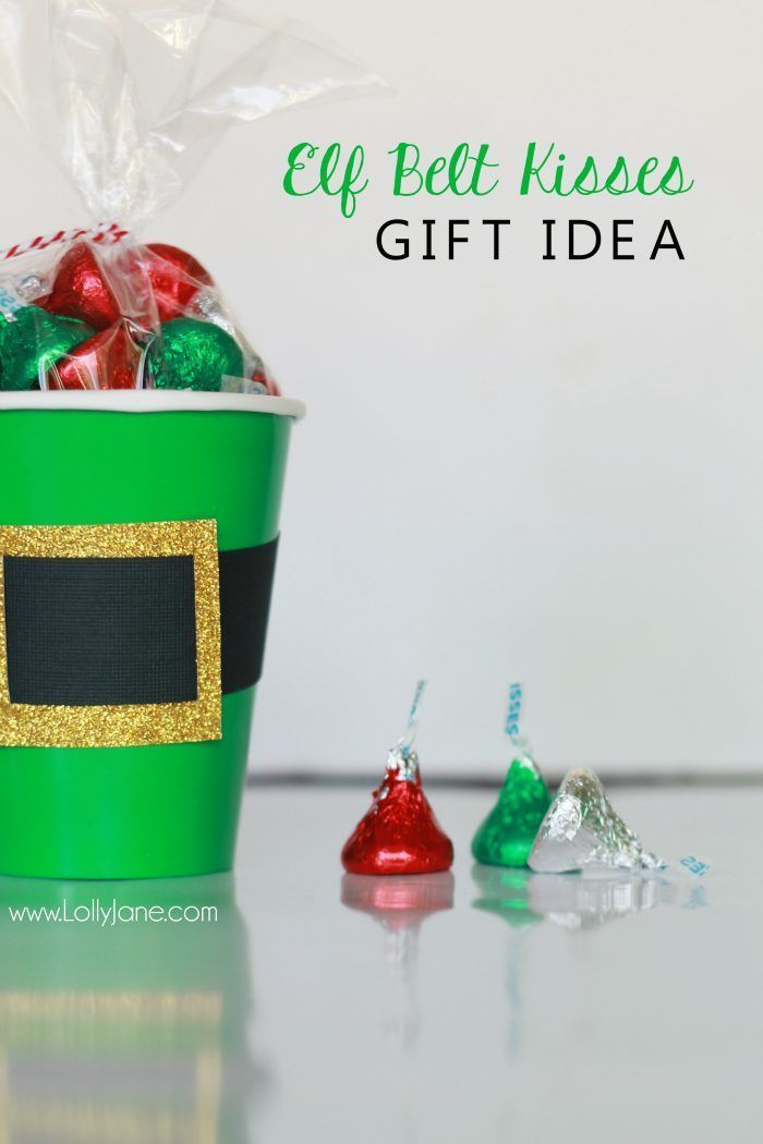 elf belt kisses gift idea Elves, Christmas gifts and Holidays