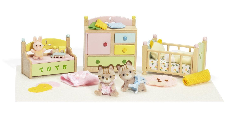Amazon Com Calico Tanner Tallulah S Nursery Fun Time Sleep N Play 22 Baby Doll Nursery Nursery Nursery Furniture