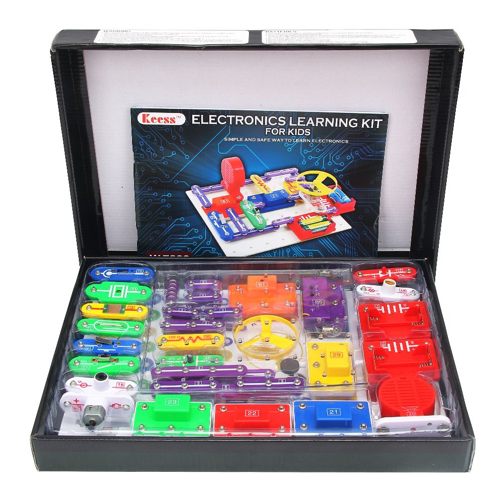 This Snap Circuit Kit Provides Kids With The Tools And Instructions Circuits You Will Learn How To Build A Simple They Need Experiment Their Own Hands Firsthand Electronics Work