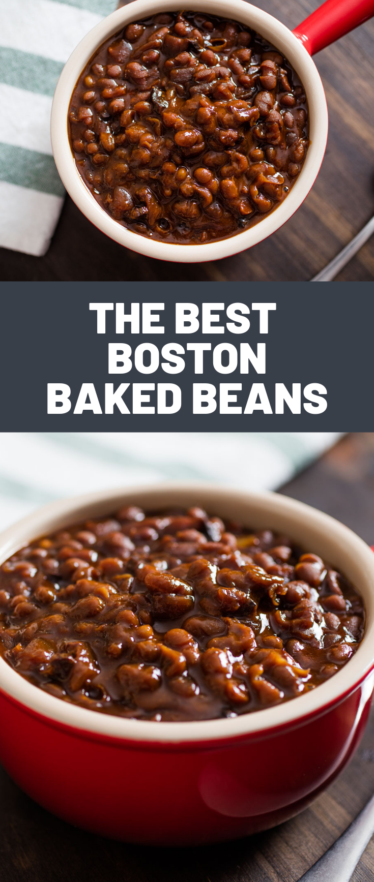 How To Make Boston Baked Beans The Low Slow Old Fashioned Way Baked Bean Recipes Bean Recipes Baked Beans