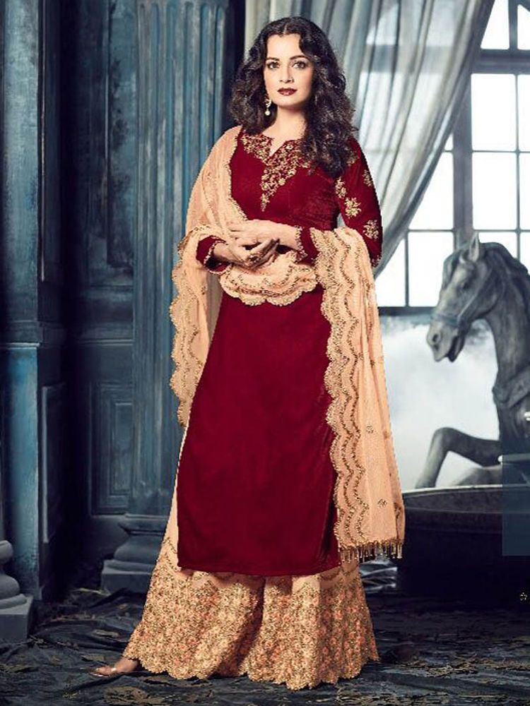 93f85676f79 Wedding Indian Latest Ethnic Bollywood Designer Fastival Salwar Kameez   Handmade  SalwarKameez