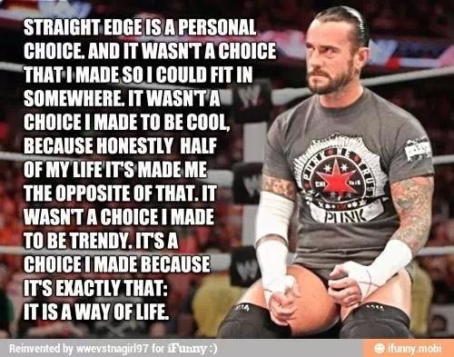 Cm punk is that a curt cobain reference yay two of my favourite cm punk see more wwe quotes google search voltagebd Images