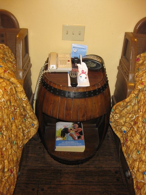 Barrel as a nightstand That would be AWESOME but I have no idea
