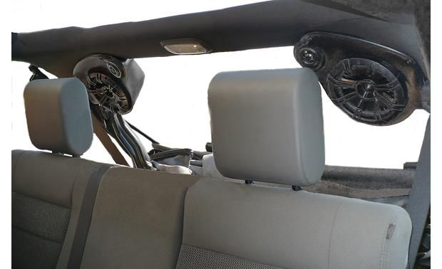 Select Increments Jku Pods Install 6 1 2 Or 6 3 4 Speakers In