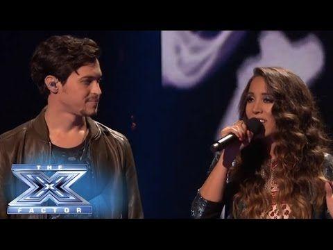 Top 3 Alex Sierra Sing Bleeding Love With Leona Lewis The X Factor Usa 2013 Leona Lewis Alex And Sierra Singing