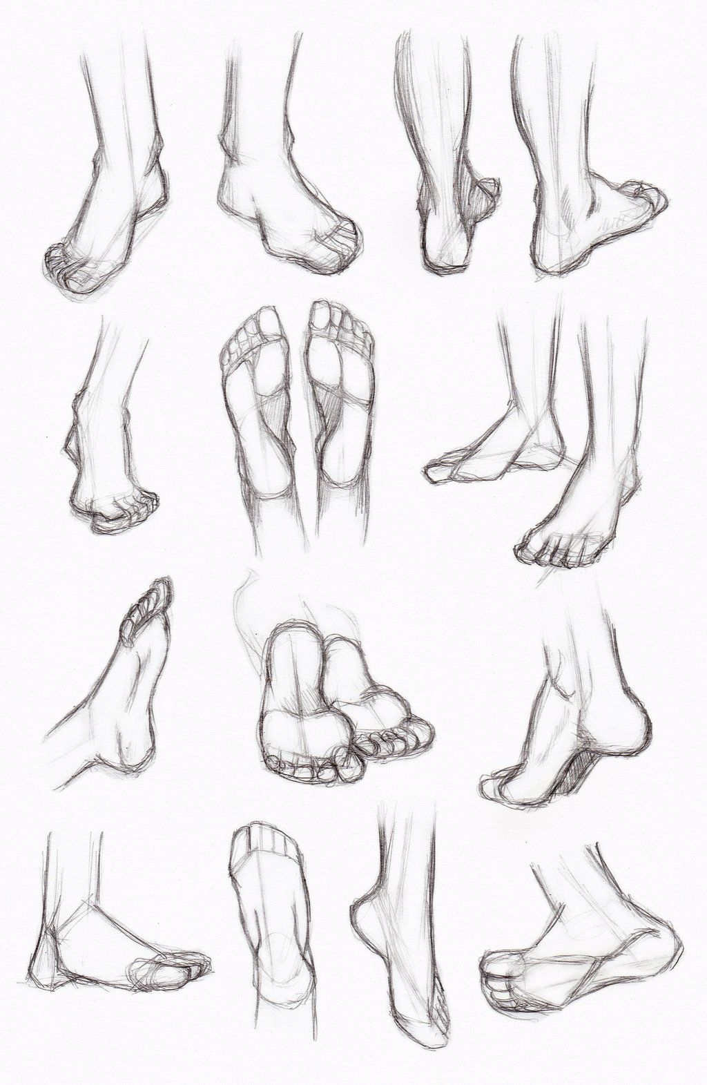 Copy's and Studies: Legs and feet 3 by WonderingMind23.deviantart ...