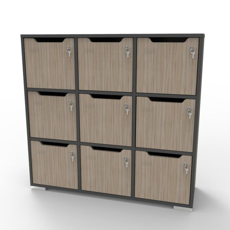 casier bois meuble casier rangement metal