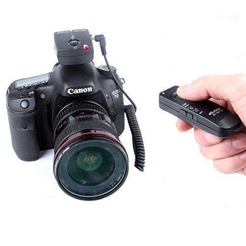 Viltrox Jy120c1 Wireless Remote Shutter Release For Canon Eos Camera 70d 60da 60d T6s T6i T5i T3i T5 T3 1200d 760d Canon Eos Cameras Digital Camera Accessories