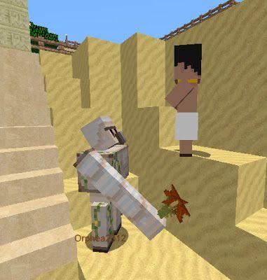 Orphea2012 youtube et minecraft minecraft golem de fer - Minecraft golem de fer ...