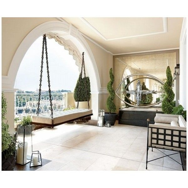 Llanding room design, luxury Penthouse in Monaco « Interior design of... ❤ liked on Polyvore featuring home, children's room, children's decor, rooms, house, interior, bedroom and backgrounds
