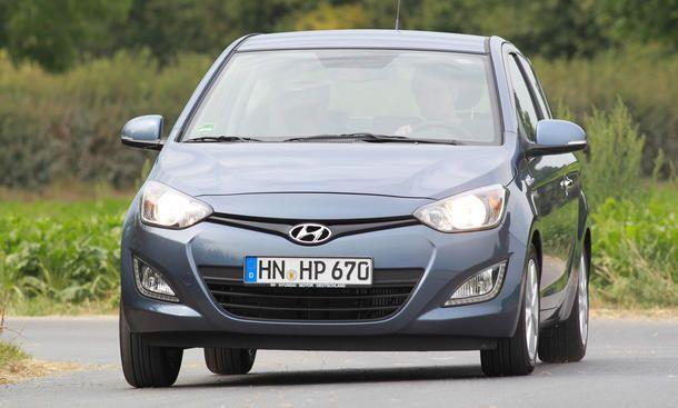Hyundai I20 Gebrauchtwagen Test