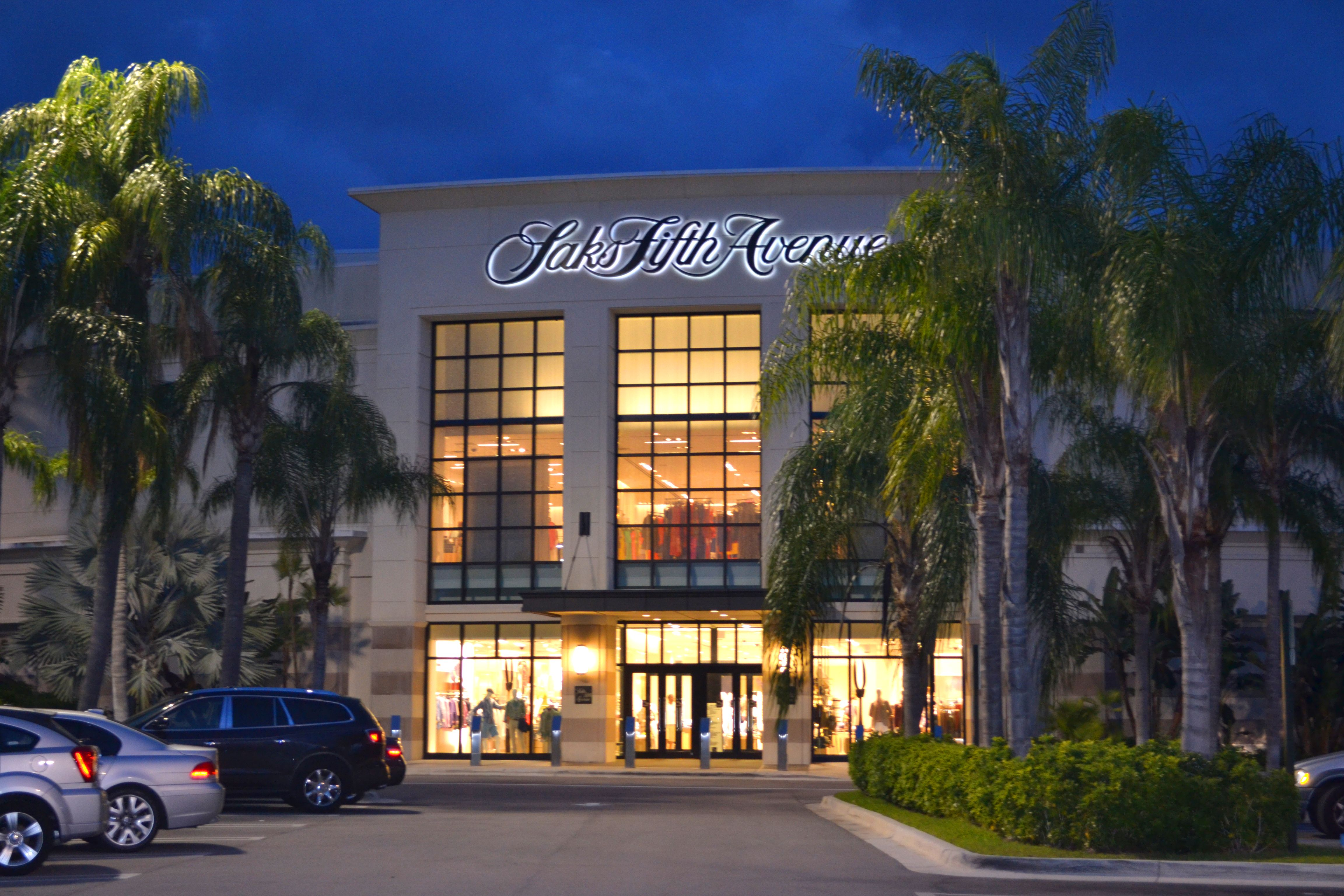 Saks Fifth Avenue At The Gardens Mall Live At Preserve At Bay Hill Estates And Be Away From It