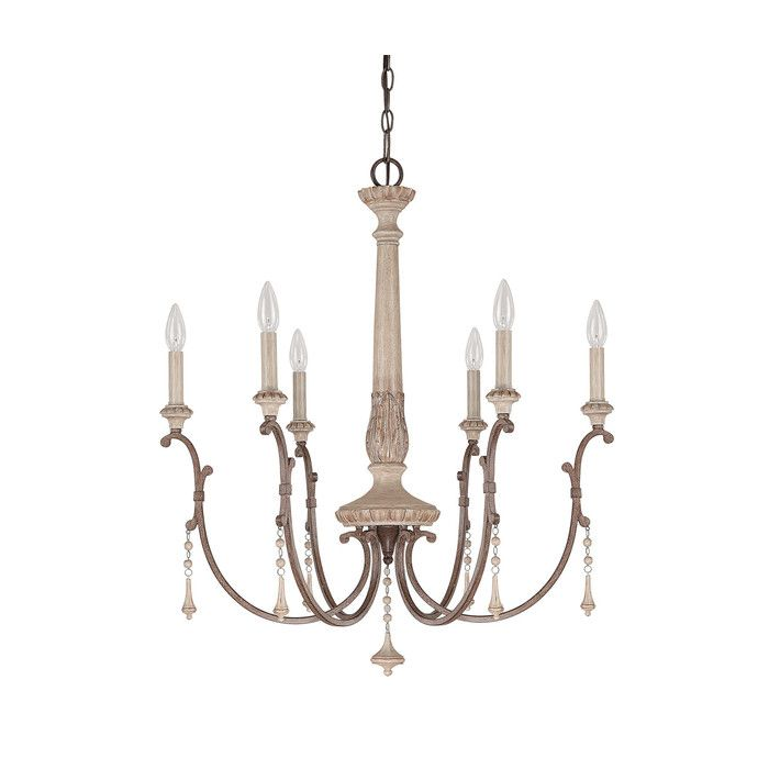 Capital lighting chateau 6 light chandelier reviews wayfair capital lighting chateau 6 light chandelier reviews wayfair aloadofball Image collections
