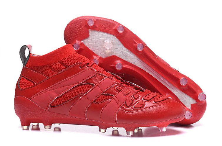 brand new 790e6 58829 2018 World Cup Adidas Predator Accelerator FG Beckham Capsule Collection  Triple Red