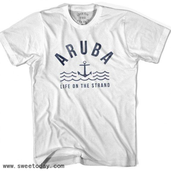 Acapulco Anchor Life on the Strand T-shirt