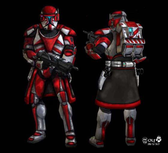 Republic Commando Armor By Johngwolf Clone Troopers Republic