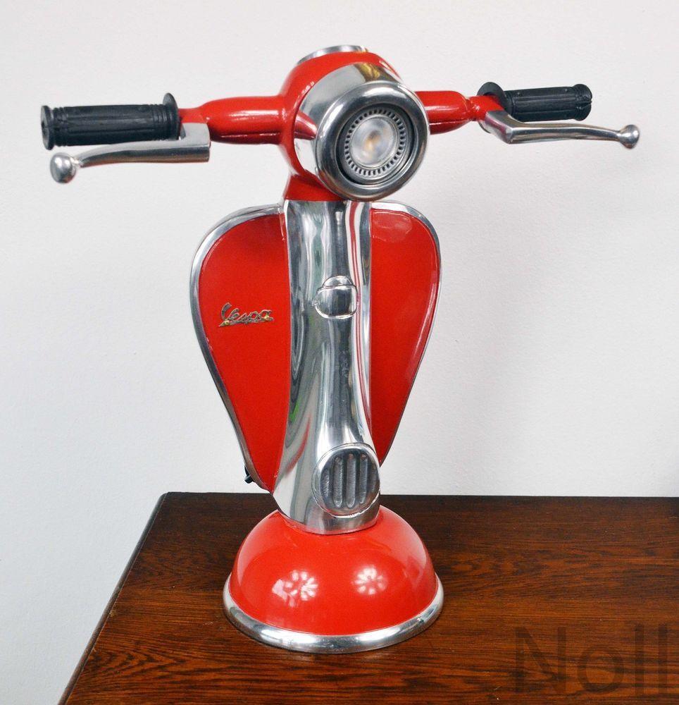 Tischlampe Tischleuchte Lampe Vespa Roller Scooter Retro Luxus