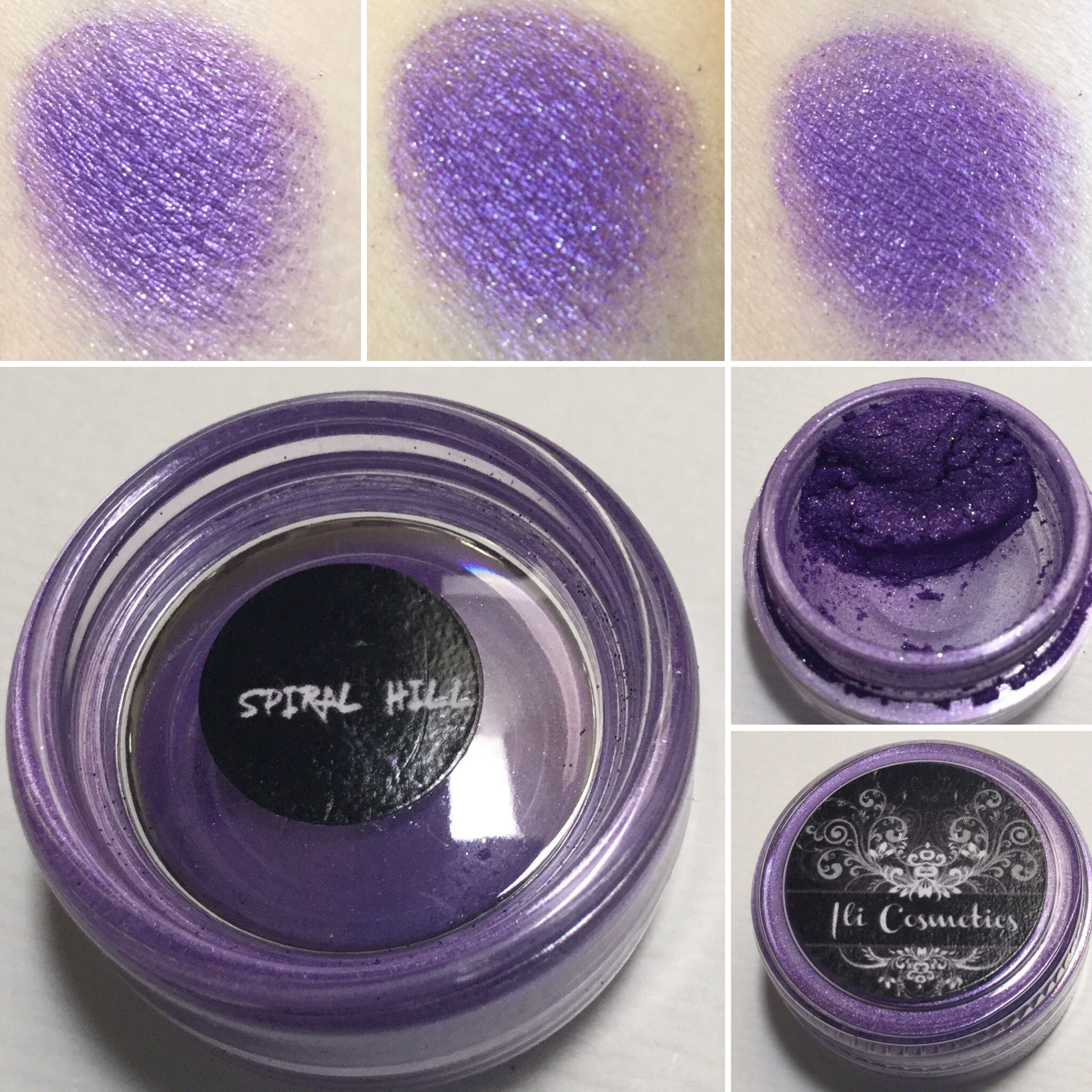 Ili Cosmetics Spiral Hill eyeshadow. Inspired by the