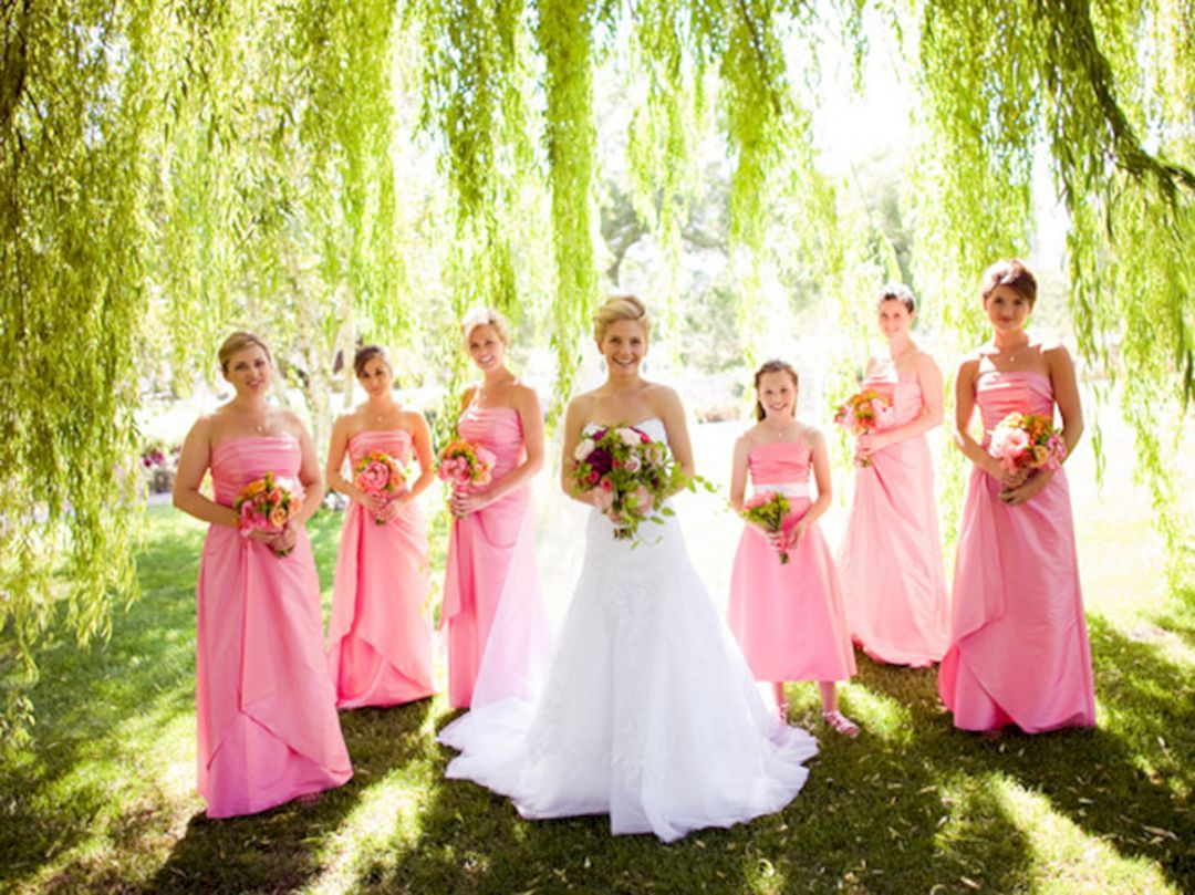 Wonderful summer outdoor wedding party ideas wedding party