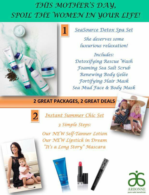 Motheru0027s Day gift ideas! ❤ #mothersday #arbonne Gift Ideas - mothers day flyer