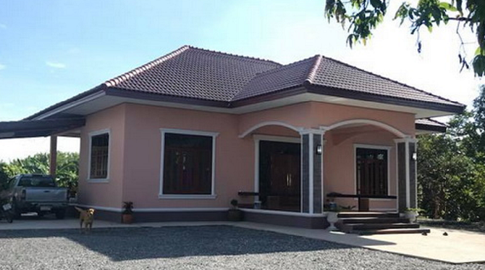 Sometimes Building A House Does Not Have To Be Big You Just Have A Corner To Meet The Needs Are E Small Bungalow Kerala House Design House Architecture Design