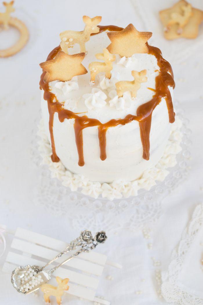 Eierlikor Torte Mit Gebraunter Butter Safran Karamell Und Viel