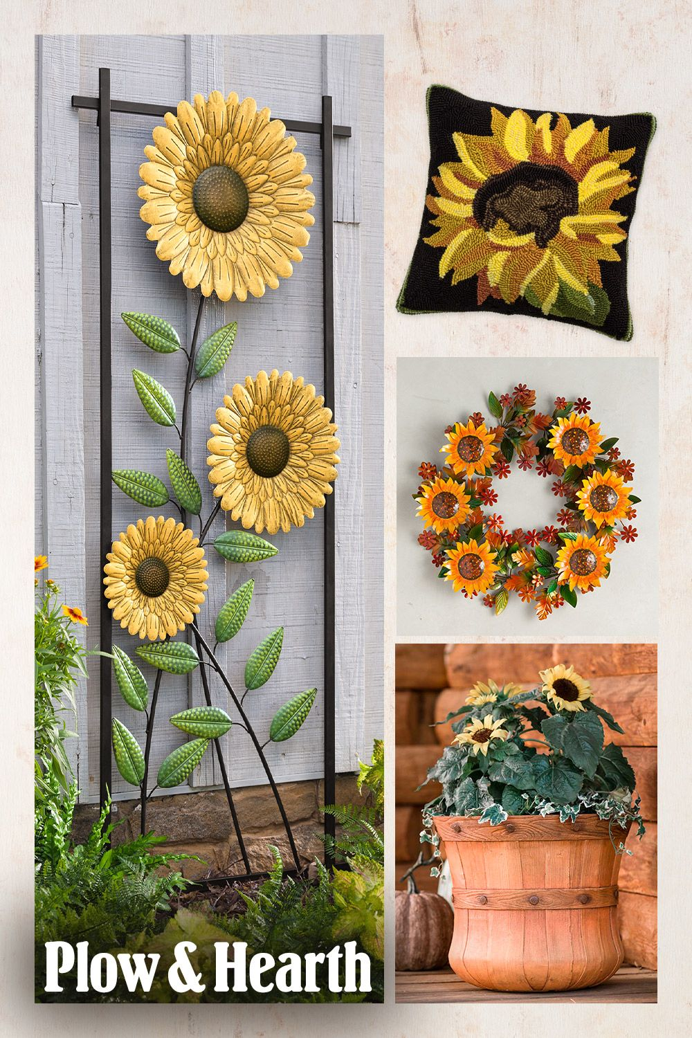 Sunny sunflowers brighten any space with their lovely