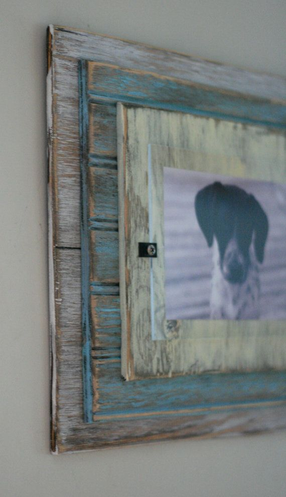 5 x 7 Distressed Handmade Picture Frame White by shoponelove, $45.00 ...