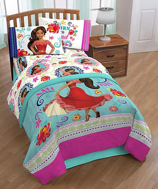 Elena of Avalor Teal & Pink Dancing Bed-in-a-Bag Set # ...