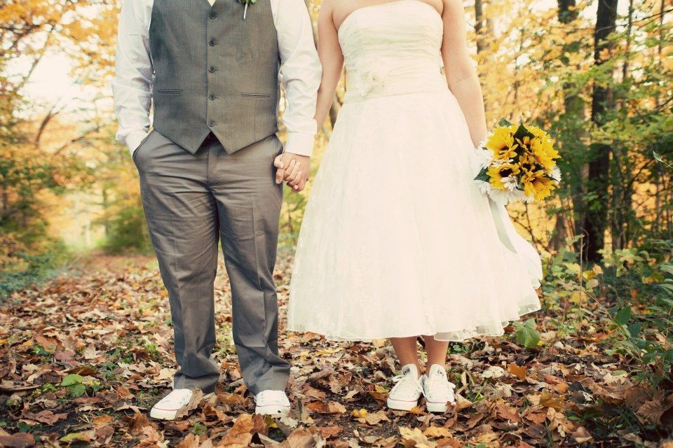 Chuck Taylor Converse Wedding Short Dress Best Day Of My Life