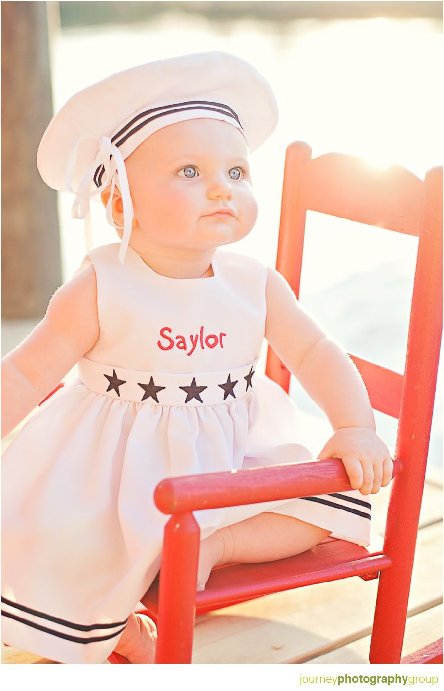 Baby Photography Pose Rocking Chair Nautical For The