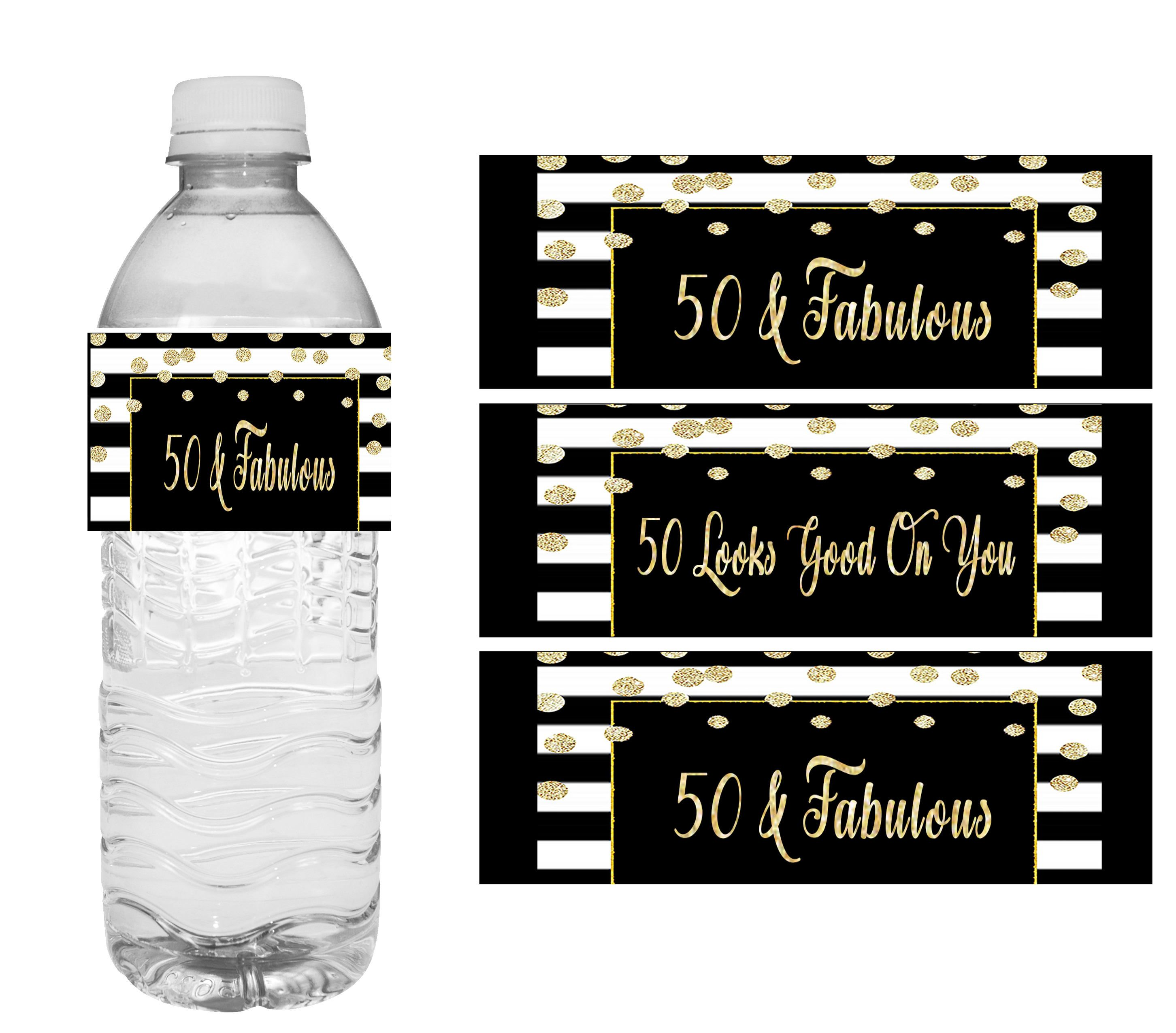 50 Fab Summer Finds Under 50: 50 Fabulous Birthday Party Printables For Turning 50 In