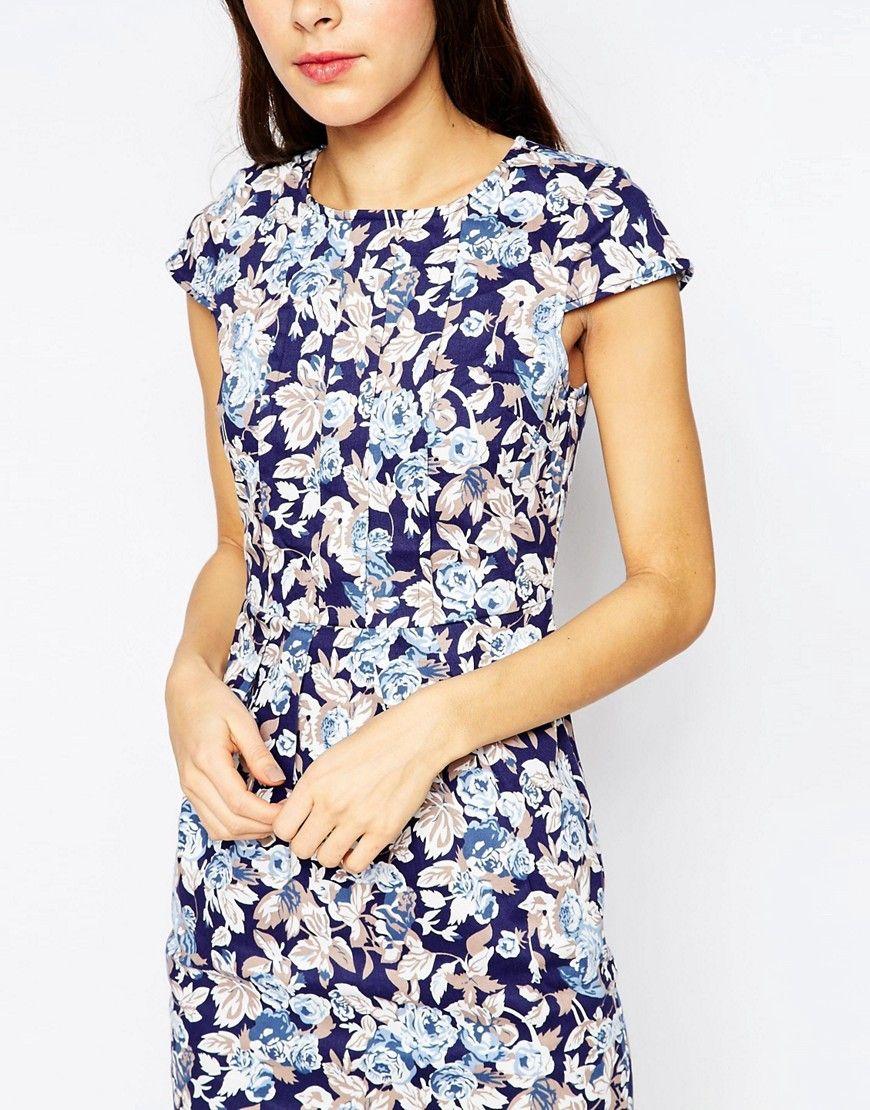 Sugarhill Boutique Georgie Pleat Tulip Dress