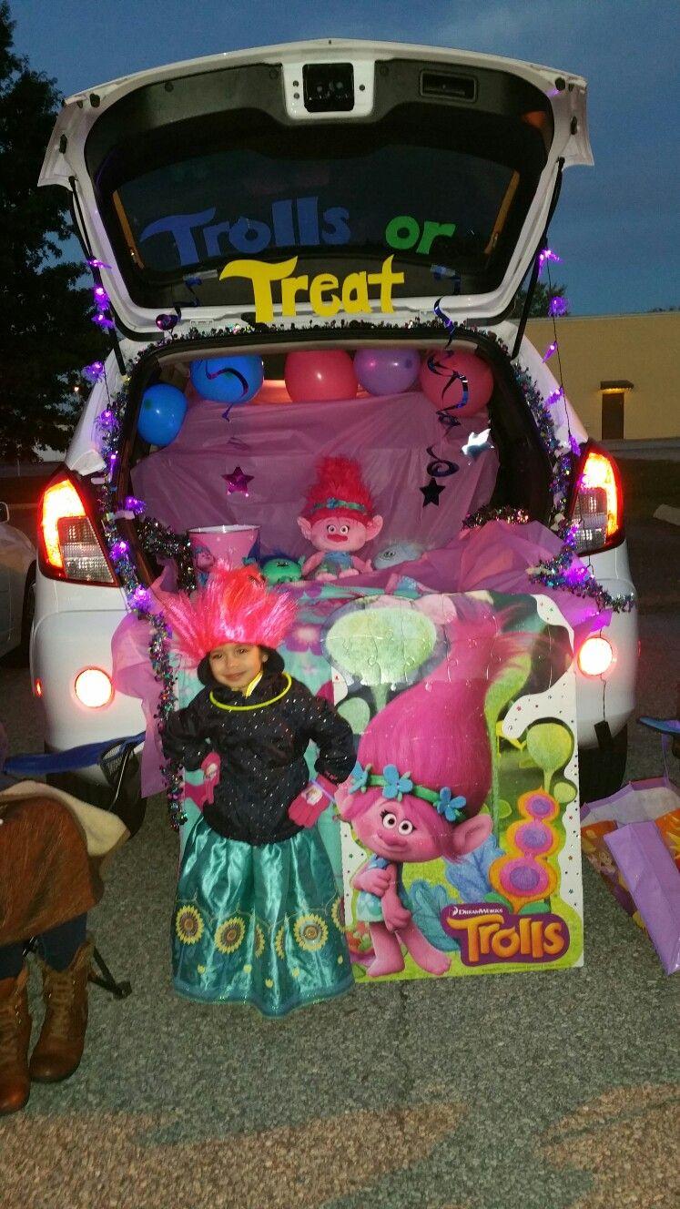 Trolls Trunk Or Treat Trunk Or Treat Truck Or Treat