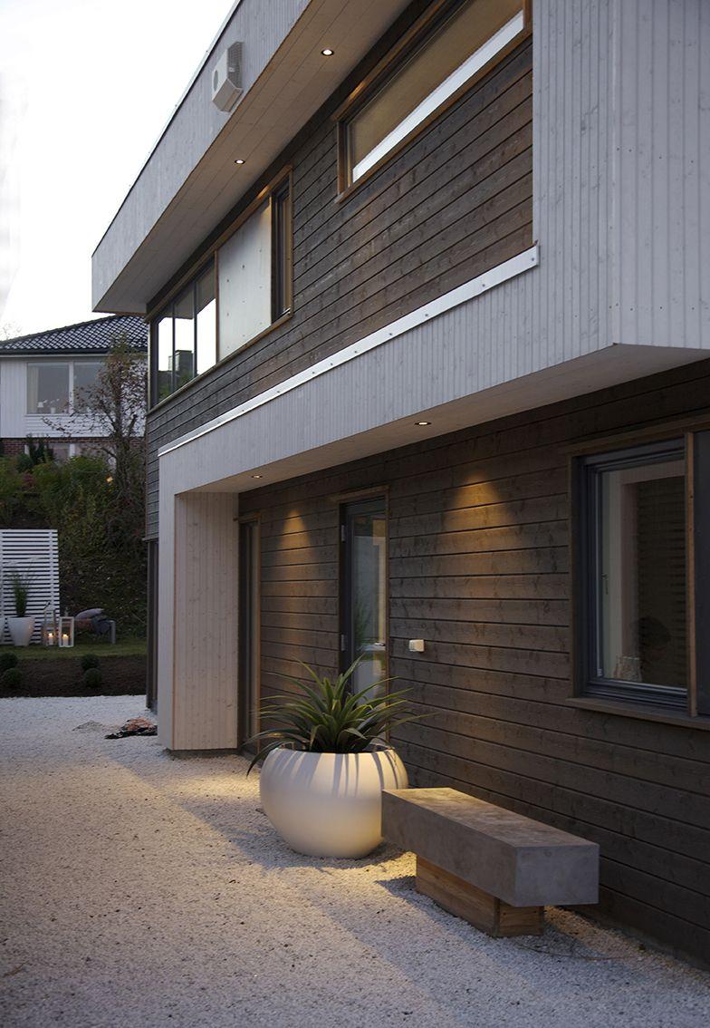 Urbanhus eksteri r hus funkishus funkis bolig d rer for Funkis house