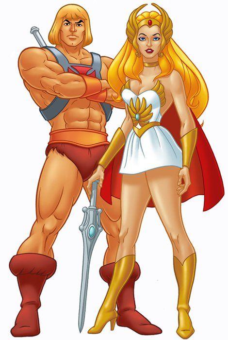 He-Man & She-Ra | He man costume, Cartoon, Man vs